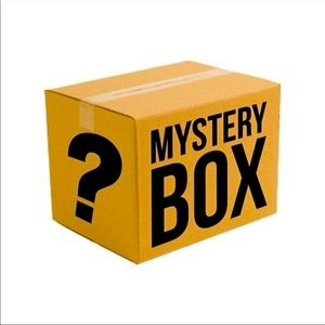 $35 mystery box with over $80 worth of items. Beauty products & size 2x tops.